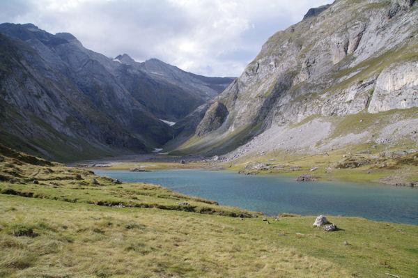 Le Lac du barrage d_Ossoue
