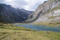 Le Lac du barrage d'Ossoue
