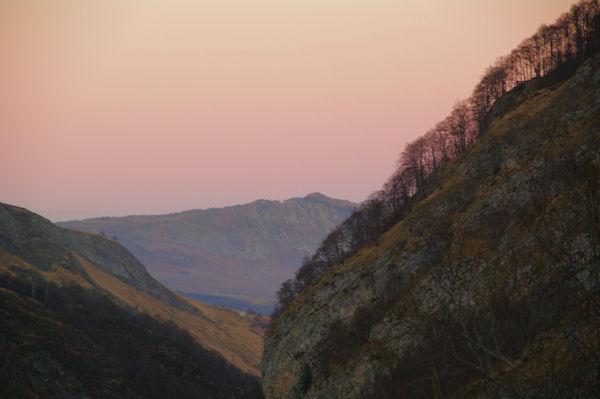 La vallée du gave d_Arrens, au fond, le Soum de la Péne