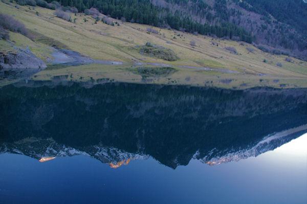 Reflets sur le lac du Tech