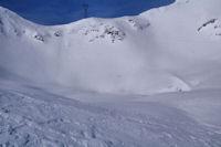 Le Lac des Espécières, gelé en cette saison