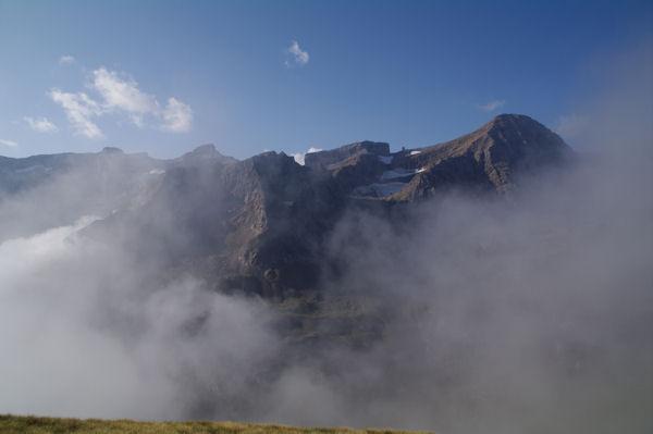 Le Taillon, la Brèche de Roland, le Casque et la Tour depuis le Pic de la Pahule