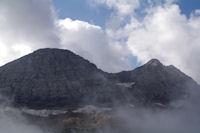 Le Taillon et les Pics des Gabietous depuis le Col des Tentes