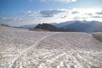 Le glacier de la Breche