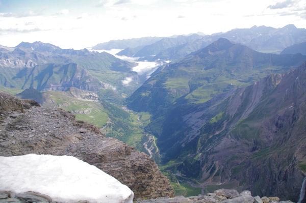 La vallée de Gavarnie depuis la Tour du Marboré