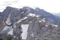 Pics de la Cascade,Epaule, Pic et Cylindre du Marbore, Mont Perdu