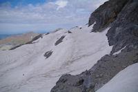 La falaise Sud de la Tour du Marbore