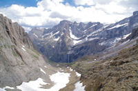 Le Cirque de Gavarnie depuis le Col des Sarradets