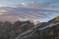L'Epaule du Marbore et les Pics de la Cascade