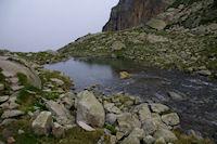 Un petit laquet au dessus du Lac de la Mourele