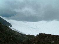 Le glacier d&#39Ossoue depuis la pique Longue