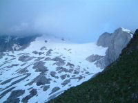 Vue du glacier d'Ossoue