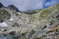 Entre le Lac du Pourtet et le Lac superieur de l'Embarrat