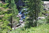 Cascade sur le ruisseau du Pourtet