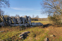 Mur solide a Plana Greze