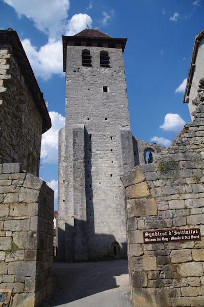 L_Abbaye St Pierre à Marcilhac sur Célé