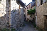 Derriere l'Abbaye St Pierre a Marcilhac sur Cele