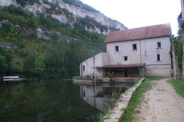Le moulin de Marcilhac sur Célé
