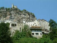 Au pied du chateau de Rocamadour
