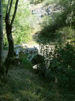 Pont sur l'Alzou, en arrivant dans la vallee