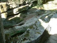 Dans les ruines du Moulin du Saut