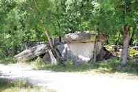 Le dolmen de la Borie Rouge