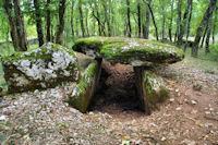 Le dolmen de Marcigaliet