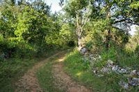 Le chemin vers Camps de Sabrier