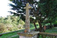 Une croix à Laramière