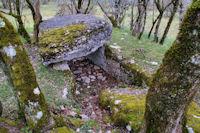Un dolmen vers les Condamines