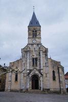 L'eglise de Limogne en Quercy