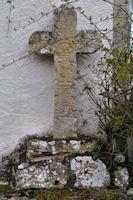 Une vieille croix a Mas de Couderc