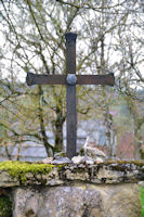 Une croix de compostelou