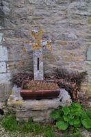 Vieille croix à Pech Barriat
