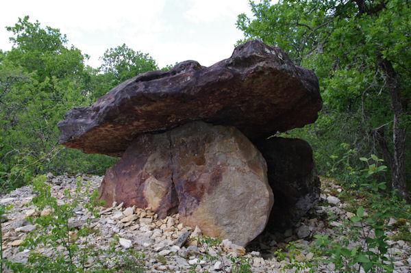 Le dolmen des Las Tres Peyres