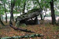 Un dolmen a La Pierre Levee
