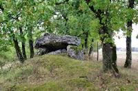 Les dolmens autour de St Hilaire