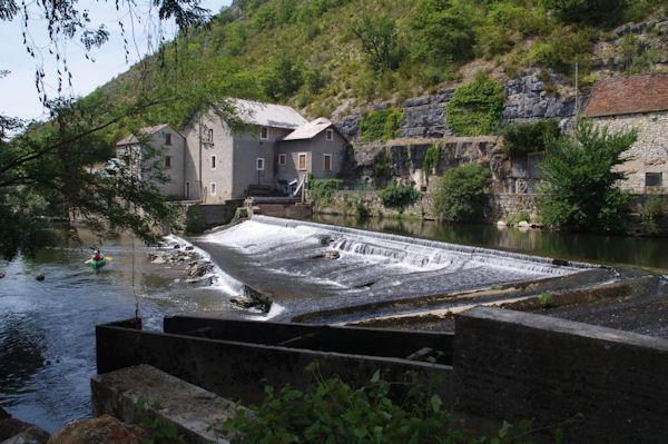 Le barrage du Moulin de la Merlie