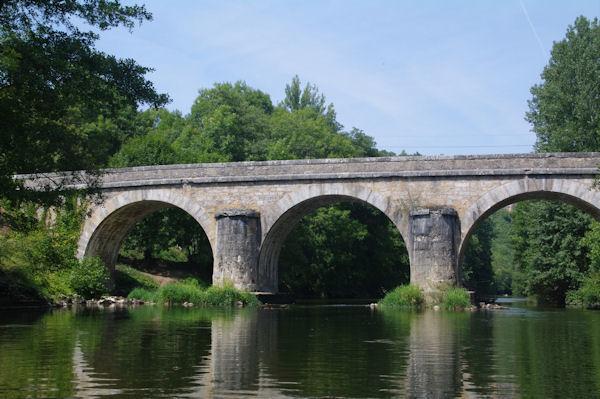 Le Pont de Sauliac sur Célé