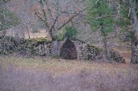 Une cariotte mur à Tourenas