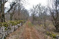 Le chemin vers Pech Canot