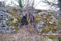 Cariotte mur sur le GR65
