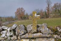 Vieille croix au Pech du Lac