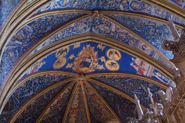 Les plafonds de la Cathédrale Sainte Cécile à Albi