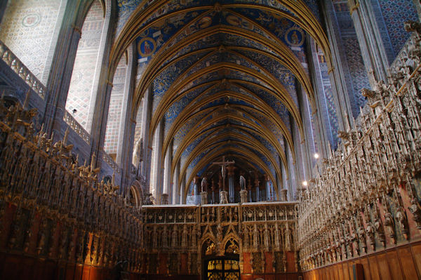 Le Choeur de la Cathédrale Sainte Cécile à Albi