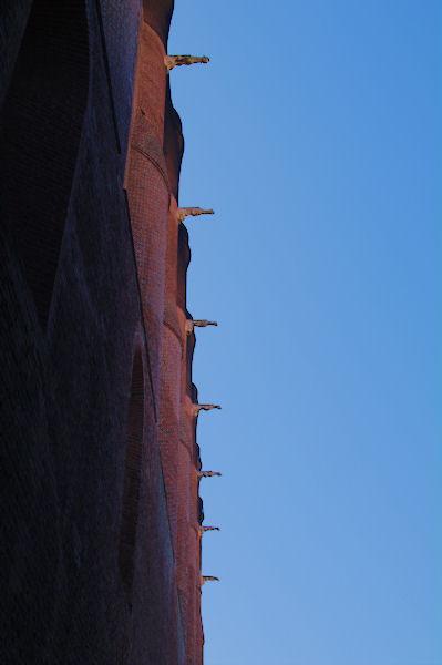 Les gargouilles de la Cathédrale Sainte Cécile à Albi