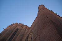 Face Nord de la Cathedrale Sainte Cecile a Albi