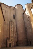 La cour interieur du Palais de la Berbie
