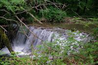 Jolie cascade sur la Durencuse