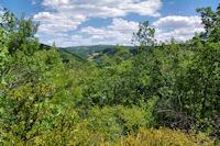 Au dessus de la vallee de l'Aveyron